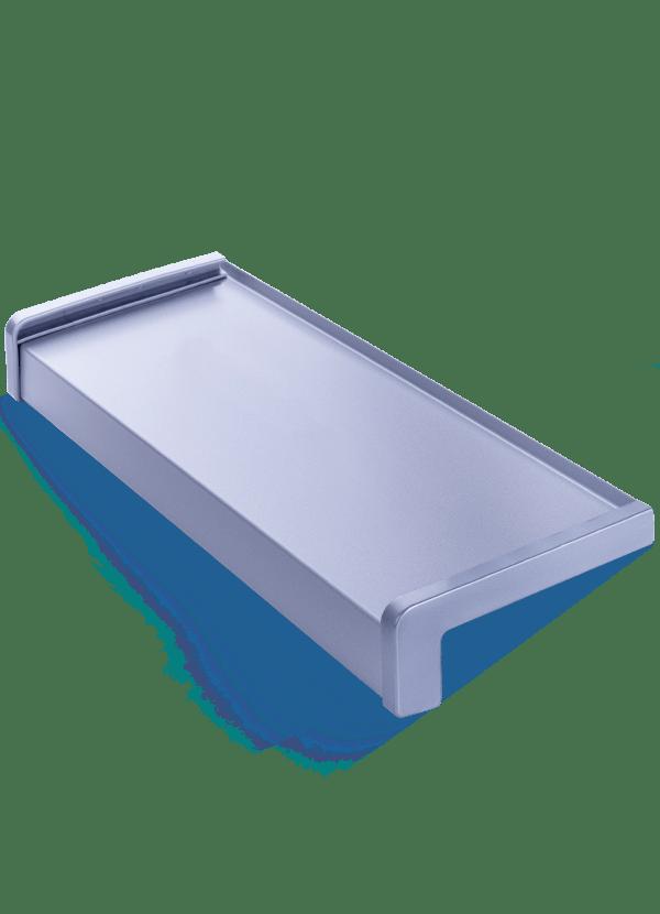 Aluminium vensterbankeng